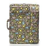 Art Portfolio Bag - Art Portfolio Case Tote Bag Carry Backpack - 4K Canvas Artist Travel Sketch Board Drawboard Sketchpad Art Storage Bag for Drawing Sketching Painting Art Supplies Artwork