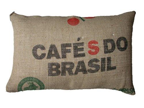 Funda cojin CafŽ do Brasil - saco cafŽ - cojin organico ...