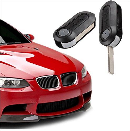 3 Button Shell Remote Car Key Fob Case for Fiat 3 Buttons Fiat 500 PUNTO PANDA DUCATO ULYSSE 500 DOUBLE carkeuspare