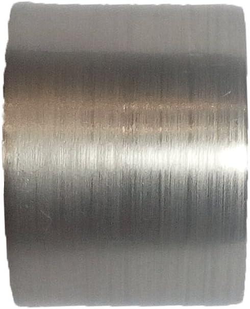Barra de cortina de acero inoxidable de 12 mm.