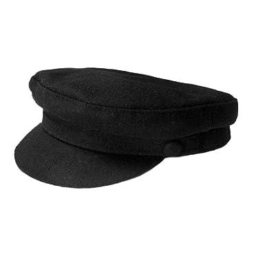 a307a100855 Failsworth Mariner Breton Melton Wool Cap  Amazon.co.uk  Clothing