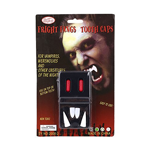 VESSOS Home Halloween Vampire Fangs Teeth Dracula Adult Kids Cosplay Costume Prop Accessory Party DIY Decoration ()