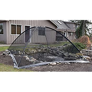 EasyPro PCT1014 Pond Garden Cover Protective Net Tent Dome Netting 10ft by 14ft  sc 1 st  Amazon.com & Amazon.com : EasyPro PCT810 Pond Garden Cover Protective Net Tent ...