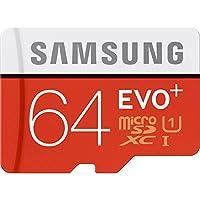 Samsung 64GB EVO Plus Class 10 Micro SDXC con adaptador 80mb /s (MB-MC64DA /AM)