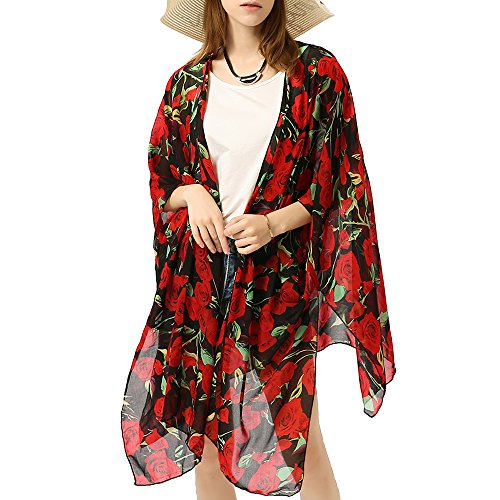 Sheer Chiffon Kimono - 9