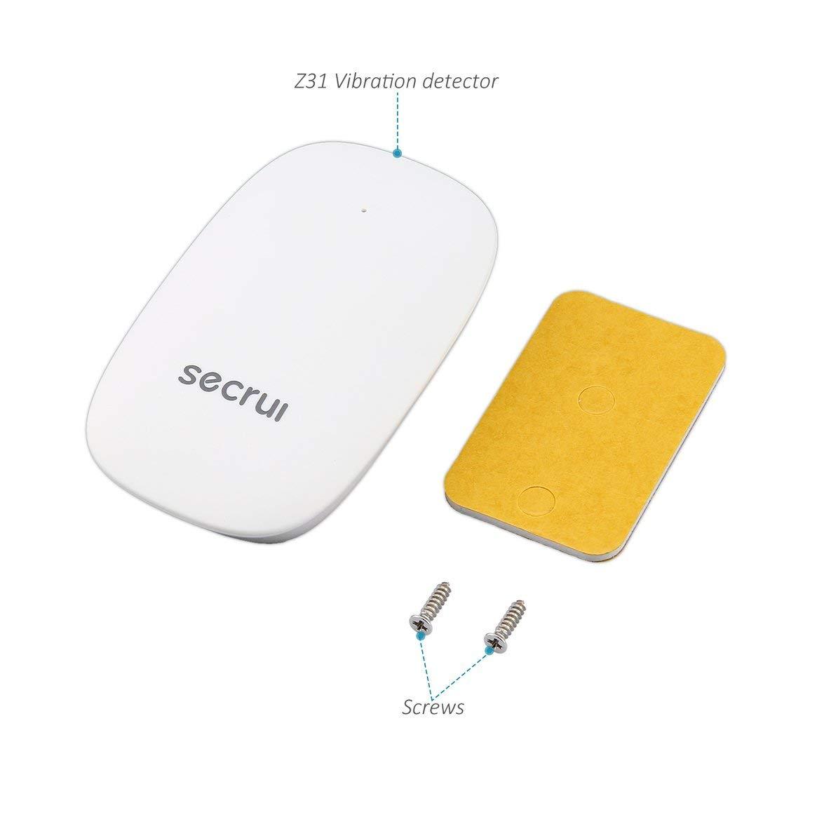 Capteur de Choc sans Fil de détecteur de Vibration de SECRUI Z31 pour l'antenne intégrée de système d'alarme de Villa à la Maison Bel Aspect Delicacydex