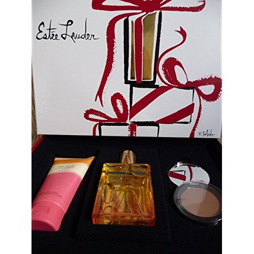 Estee Lauder Bronze Goddess 3pcs Fragrance Skinscent Set