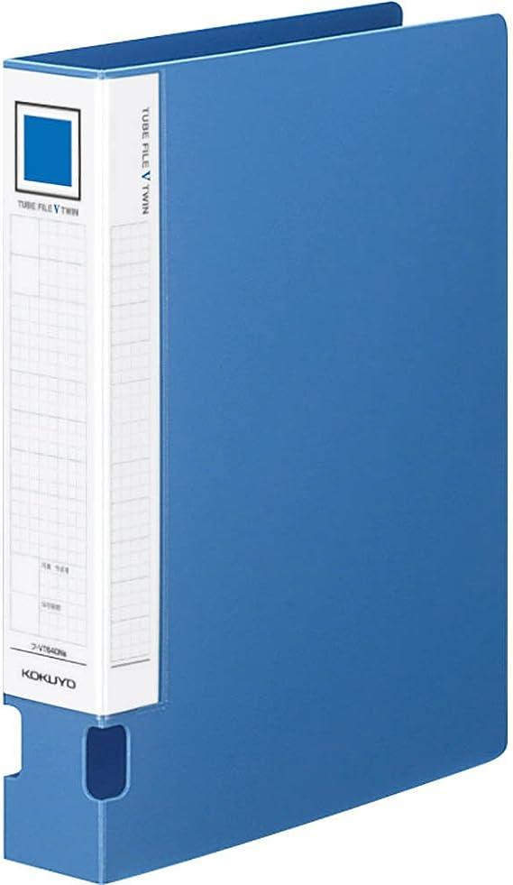 japan import Kokuyo tube file blue M type A4 portrait 20mm binding 2 Anafu-1620B