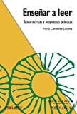img - for Ensenar a leer/ Teach reading: Bases Teoricas Y Propuestas Practicas/ Theoretical and Practical Proposals (Ojos Solares) (Spanish Edition) by Linuesa Maria Clemente (2008-06-02) Paperback book / textbook / text book
