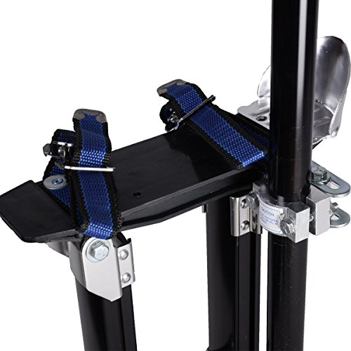 New 18-30 Inch Drywall Stilts Aluminum Tool Painters Walking Taping Finishing Black by MTN Gearsmith (Image #3)