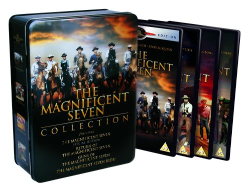 Magnificent Seven Collection - The Magnificent Seven/The Return of The Magnificent Seven/The Magnificent Seven Ride/Guns of The Magnificent Seven [Import anglais]
