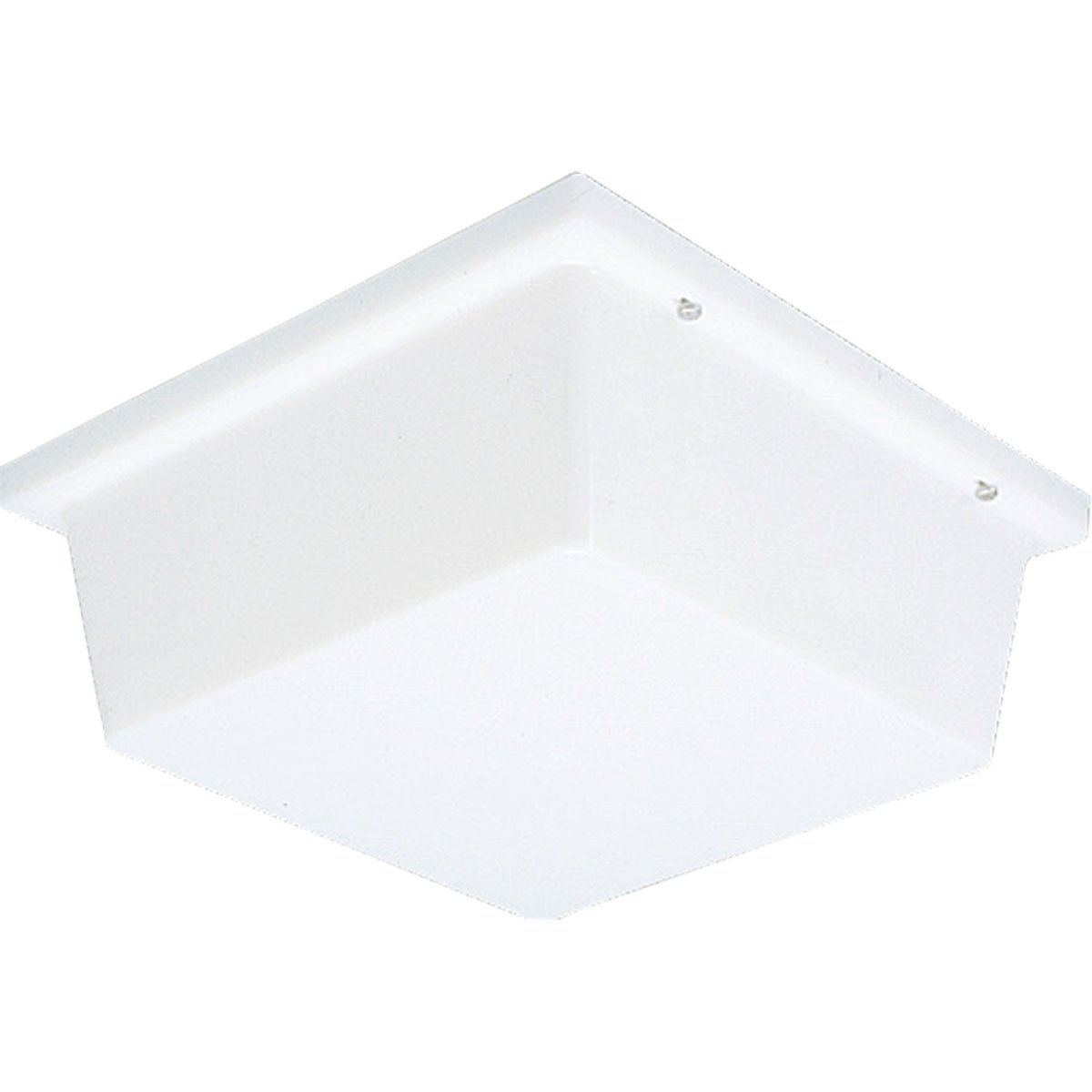 Progress Lighting P5791-60 Impact Resistant Fixture As Wall Or Ceiling Mounted with Polycarbonate Diffuser, White by Progress Lighting (Image #1)