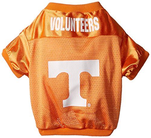 NCAA Tennessee Volunteers Football Dog Jersey, Small (Dugout Pet Dog Jacket)