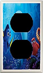GOT YOU COVERED FINDING DORY AND FRIENDS LIGHT SWITCH COVER OR OUTLET (1x Outlet Option 5)