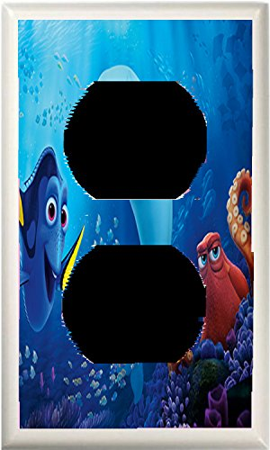 GOT YOU COVERED FINDING DORY AND FRIENDS LIGHT SWITCH COVER OR OUTLET (1x Outlet Option 5) by Got You Covered