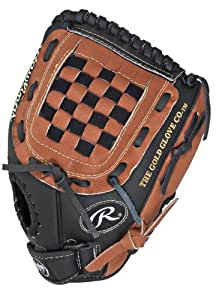 Rawlings Playmaker Series 12-inch Youth Baseball Glove, Left-Hand Throw (PM120BT)