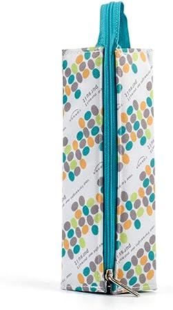 Estuche personalizado para lápices para niñas Estuche bonito para niñas Estuche para lápices grande - Maquillaje escolar, Estuche para lápices portátil de lona expandible, Nylon de gran capacidad: Amazon.es: Hogar