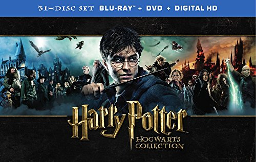 Harry Potter Hogwarts Collection (Blu-ray + DVD) by Warner Home Video