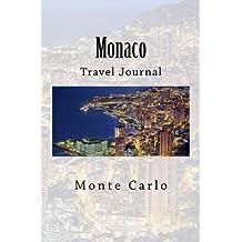 Monaco: Monte Carlo, travel journal, 6 x 9, softcover