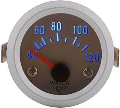 Universal Digital Water Temperature Meter Gauge with Sensor for Auto Car 2 52mm 40~120Celsius Degree Blue LED Light