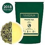 Imperial Pearl White Tea Leaves from Darjeeling - 100% Pure Unblended White Tea Loose Leaf - World's Healthiest Tea Type - RICH IN ANTIOXIDANTS - Detox Tea, Slimming Tea, 1.76oz (25 Cups)