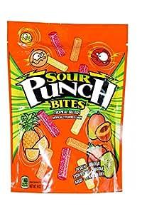 Sour Punch Tropical Blends Sour Bites 9oz Bag, 12 Count