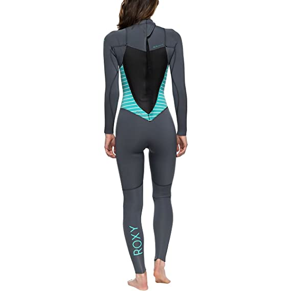 86e04ab448 Amazon.com   Roxy Womens 3 2Mm Syncro Series Back Zip GBS Wetsuit  Erjw103024   Women S Roxy Wetsuit   Sports   Outdoors