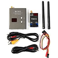 TENINYU 40Ch 5.8G 600mw 5km Wireless AV TX RX Transmitter TS832 Receiver RC832 for FPV DIY RC Drone Car Multicopter
