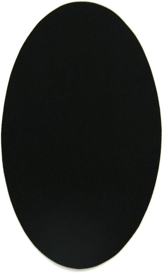 6 rodilleras color Negro termoadhesivas de plancha. Coderas para ...