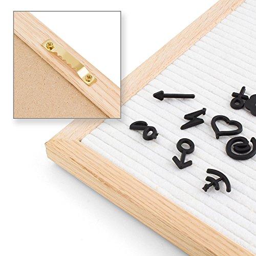 Noël Feutre SIGNE Board Plastique Lettres pour feutre lettres Board for SIGNE Board