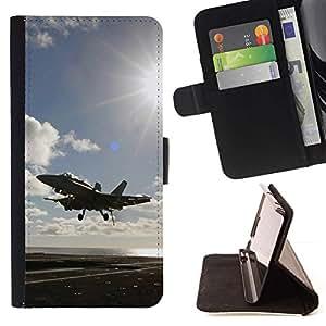 Momo Phone Case / Flip Funda de Cuero Case Cover - Volar luchador hasta - Apple Iphone 4 / 4S