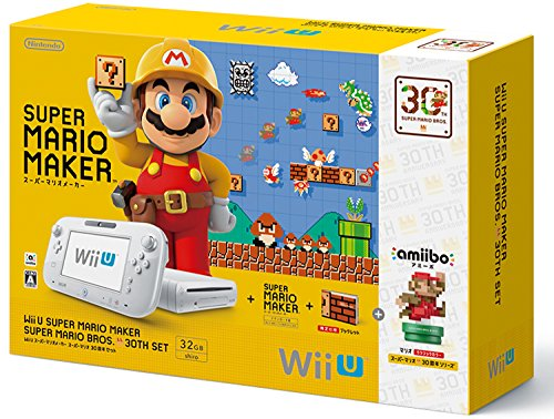 WiiU本体 スーパーマリオメーカー スーパーマリオ30周年セットの商品画像
