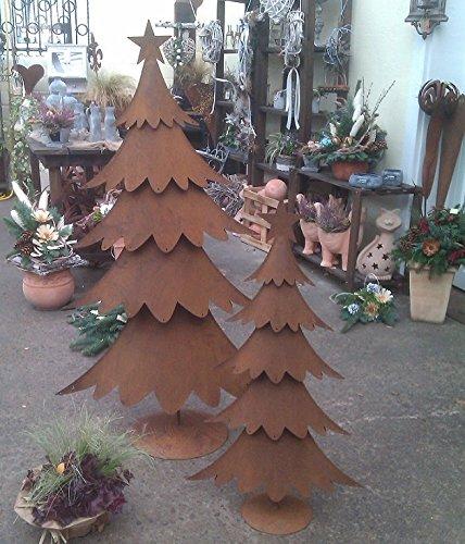 Weihnachtsbaum metall rost