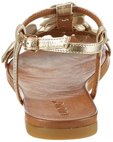 Inuovo Damer 7146 T-slides Sandaler Guld (guld) SmGlG