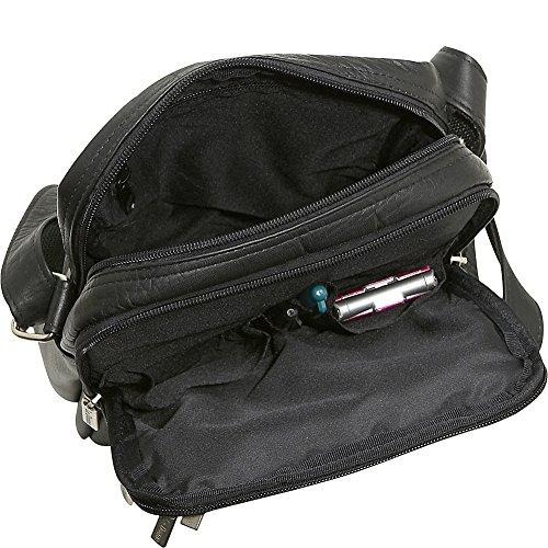 Le Donne Leather Multi Pocket Mens Bag