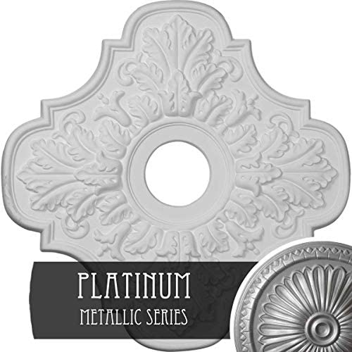 Ekena Millwork cm17peacs Peralta天井Medallion、アンティーク銅 CM17PEPLS 1