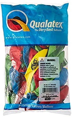 """Pioneer Balloon Company 25 Count Star Wars Special Latex Balloons, 11"""", Assorted"""