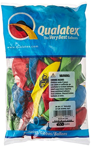 Pioneer Balloon Company 25 Count Star Wars Special Latex Balloons, 11