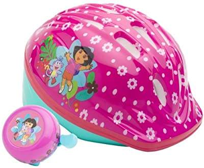 Disney Girls Dora Toddler Microshell Helmet Pink from Disney