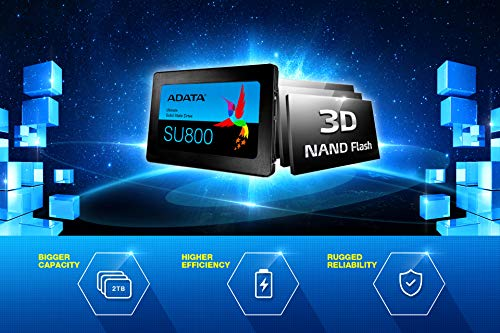 ADATA SU800 2TB 3D-NAND 2.5 Inch SATA III High Speed Read & Write up to 560MB/s & 520MB/s Solid State Drive (ASU800SS-2TT-C) by ADATA (Image #6)