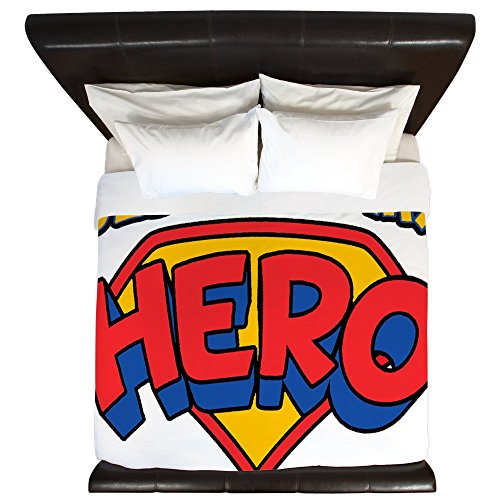 King Duvet Cover Jesus Is My Hero by Royal Lion