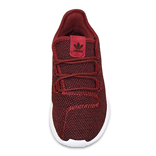 adidas Originals Kids Unisex Tubular Shadow (Little Kid) Red 11.5 M US Little Kid by adidas Originals Kids