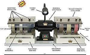"CAB King 6"" Lapidary Rock Grinding Polishing Cabochon Machine"