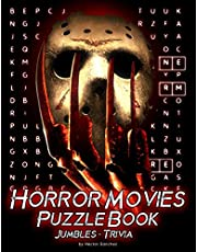 Horror Movies Puzzle Book: Great Gift For Horror Movies Fans Enjoying And Challenge Themselves By Many Fun Pieces Of Puzzle