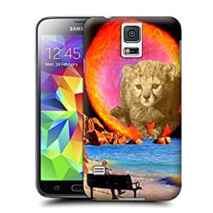 Unique Phone Case Animal painting patterns Self Preservation Hard Cover for samsung galaxy s5 cases-buythecase by heywan