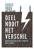 img - for Deel nooit het verschil: onderhandelen op het scherpst van de snede (Dutch Edition) book / textbook / text book