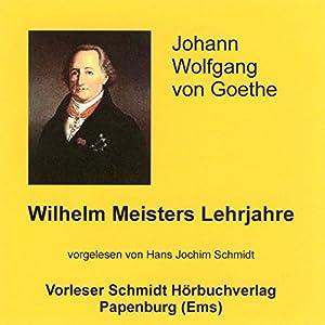 Wilhelm Meisters Lehrjahre Hörbuch