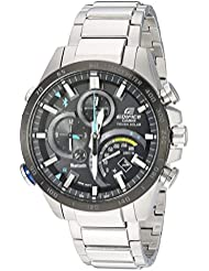 Casio Mens Edifice Connected Quartz Stainless Steel Casual Watch, Color:Silver-Toned (Model: EQB-501XDB-1ACF)
