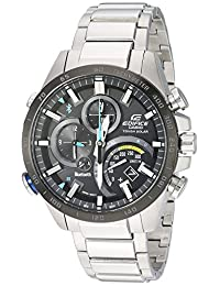 Casio Men's 'Edifice Connected' Quartz Stainless Steel Casual Watch, Color Silver-Toned (Model: EQB-501XDB-1ACF)