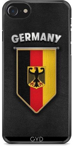 Coque pour Iphone 7 / Iphone 8 (4,7 '') - Allemagne Fanion Drapeau by Carsten Reisinger